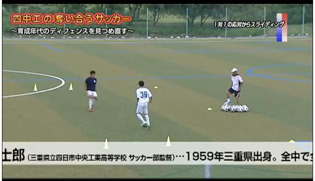 サッカー守備練習法 ゴールを守るポジショニング