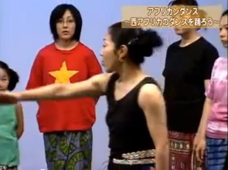 柳田知子氏ダンスレッスンDVD