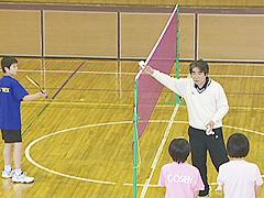 バドミントンゲーム形式実戦練習 スマッシュ・レシーブ ストロークとの組み合わせ