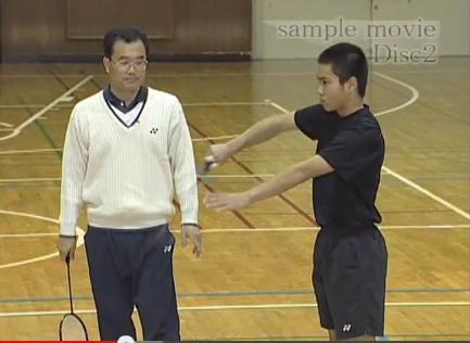 亀崎中学校バドミントン部高木義仁監督練習法DVD