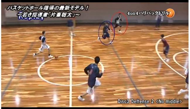 バスケットスクリーンディフェンス法実技解説DVD