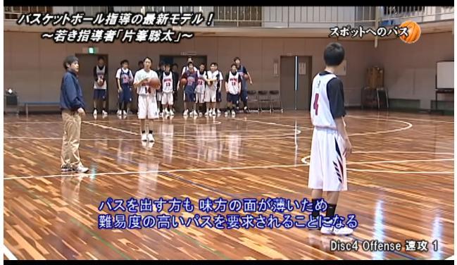 バスケットボール速攻・パス練習指導DVD