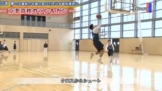 田渡 優監督バスケットオフェンス練習法実演解説DVD