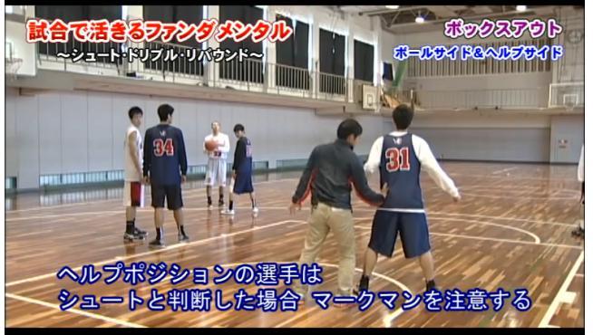 バスケットボール各スキル実演指導DVD