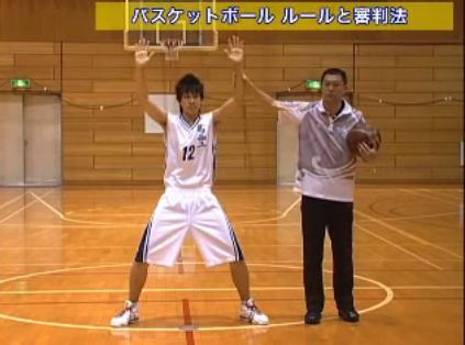平原勇次国際審判員 バスケットボールルール・審判法実演・指導DVD