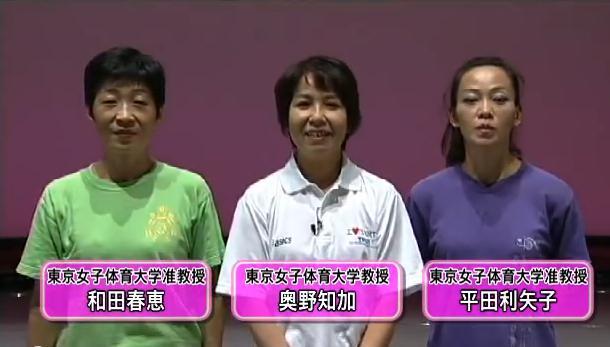 ダンス団体作品練習法DVD