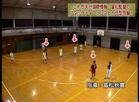 ハンドボール速攻指導・練習法DVD