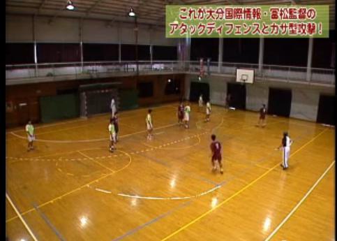 ハンドボールディフェンス練習法解説DVD
