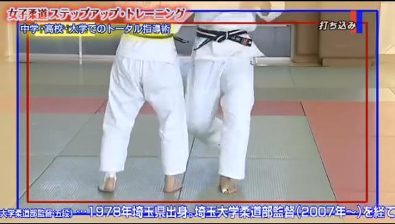 大学生向け柔道指導法DVD 立ち技 打ちこみ・トレーニング