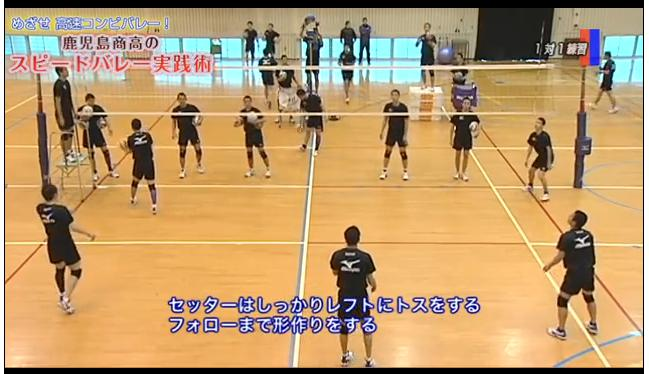 鹿児島商高バレー部練習法DVD