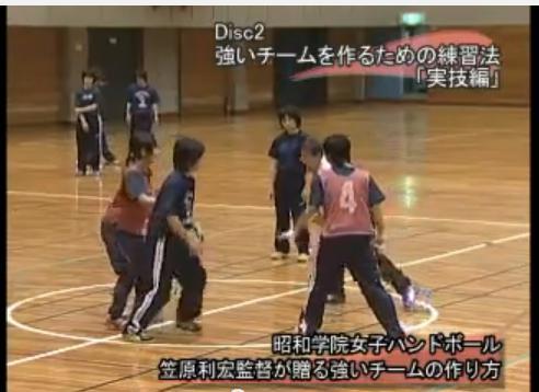 ハンドボール指導法DVD