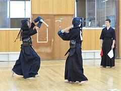 剣道切り返し練習・基本の打ち込み