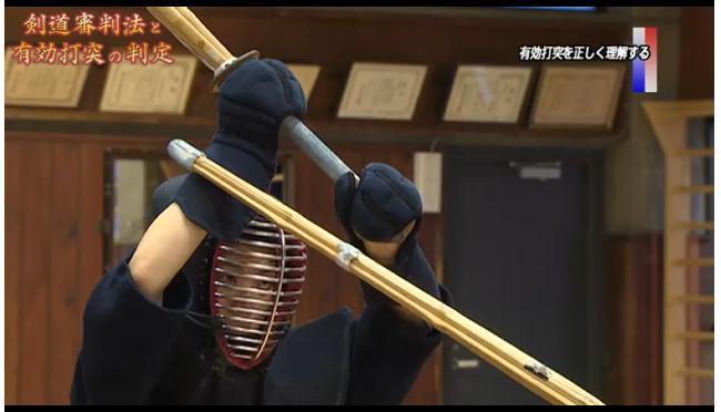 剣道有効打判定解説DVD
