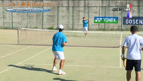 テニス ストローク習得・練習法実演DVD