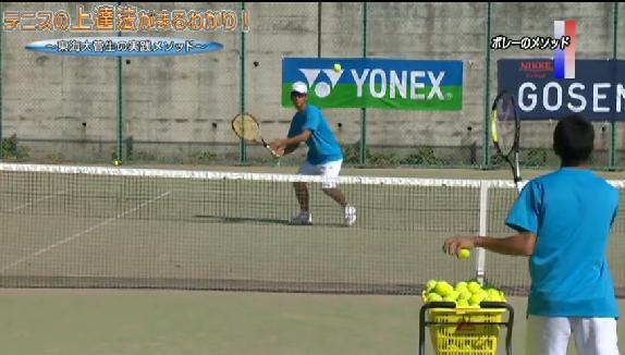 硬式テニス ボレー・ネットプレー指導・練習法教材DVD