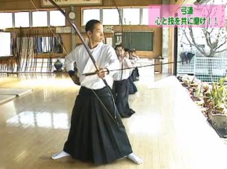 弓道の稽古法DVD
