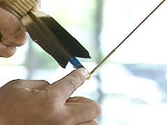 弓道の射法八節 足踏み 構え方練習法DVD