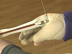手の内 弓の握り方 素引き 巻藁前 射法八節・立射 弓道稽古法DVD