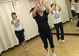 エアロビクスエクササイズ練習DVD