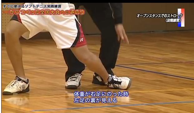 ソフトテニスストローク練習法DVD