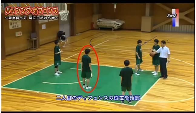 富士学苑女子バスケ部 小野利晴コーチ指導DVD