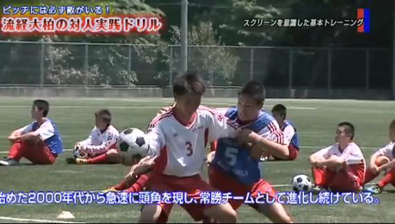 サッカー フィジカルコンタクト・ボールコントロール練習法