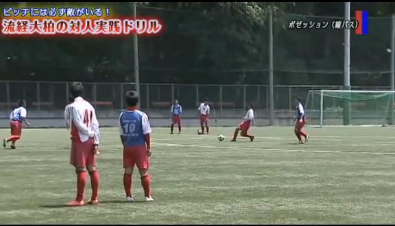 サッカー スクリーンプレーとポゼッション練習法DVD