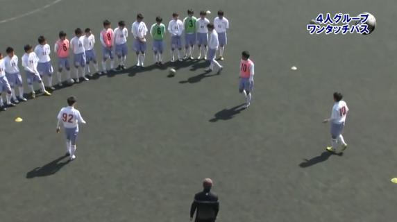 武南高等学校 サッカー部 攻撃練習法DVD