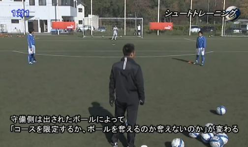 サッカー シュート・クロス練習法DVD