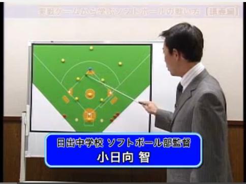 ソフトボールの戦術解説DVD