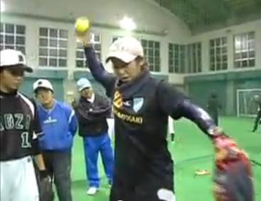 ソフトボール変化球投げ方解説DVD