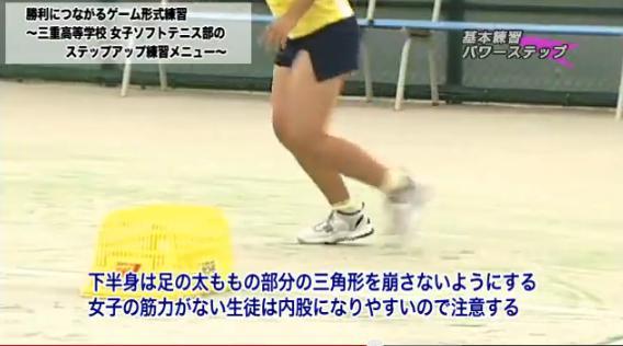 ソフトテニス ステップ ボレー 練習法解説DVD