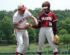 ソフトボール 送球・捕球の基本指導 実演解説DVD