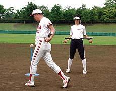 ソフトボールバッティング 効果的バッティング練習法DVD