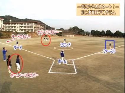 ソフトボール初心者 守備習得法DVD