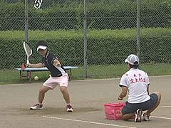 ソフトテニス 各種基本ストローク・ボレー練習法DVD