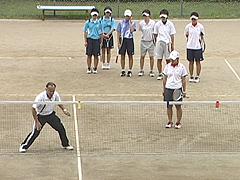 前衛・後衛の見極め コースの見極め ソフトテニス指導法DVD