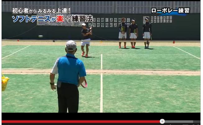 ソフトテニス ボレー・スマッシュ練習法DVD