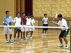 ソフトテニス 実践的練習メニュー実演解説DVD
