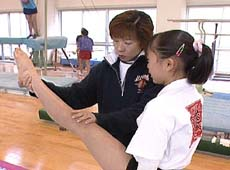女子体操 基本トレーニング法・姿勢習得DVD