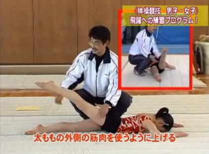 体操基本動作練習法DVD
