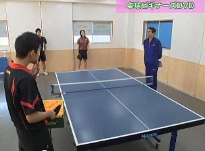 卓球カットマン養成・訓練法実演DVD