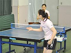 卓球サービス・レシーブ練習のポンイトツッツキやフリックDVD