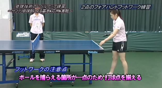 サンリツ卓球部 脇ノ谷直子監督指導法DVD