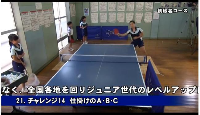 丸善クラブの卓球練習法DVD