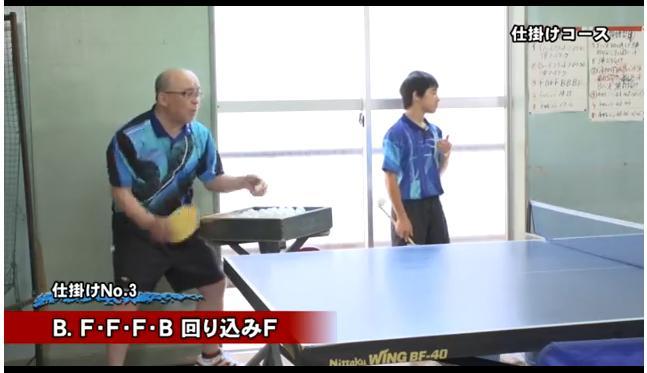 渡辺勝男監督の卓球指導法