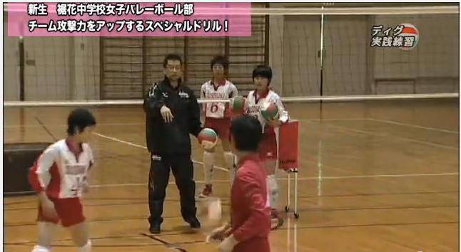バレーボール指導・練習法DVD