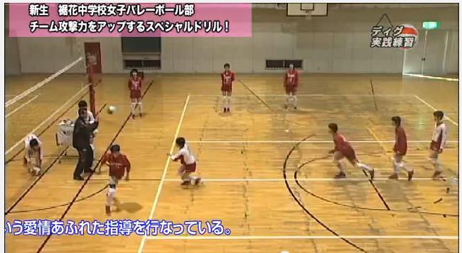バレーボールトレーニング法DVD