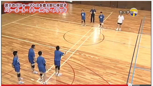 バレーボールアタック指導・練習法法DVD