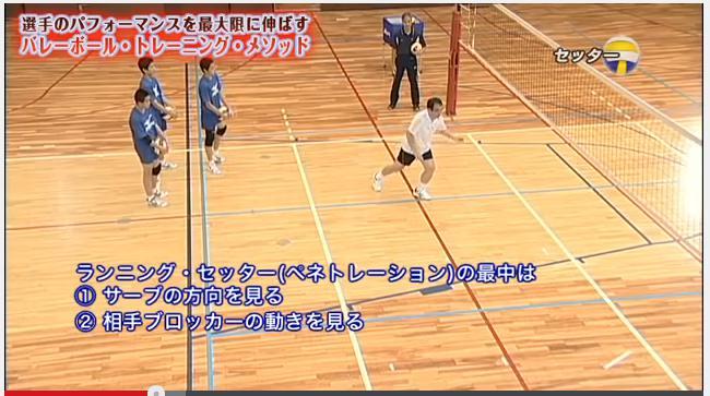 駿台学園中学校 男子バレーボール部練習内容実演DVD